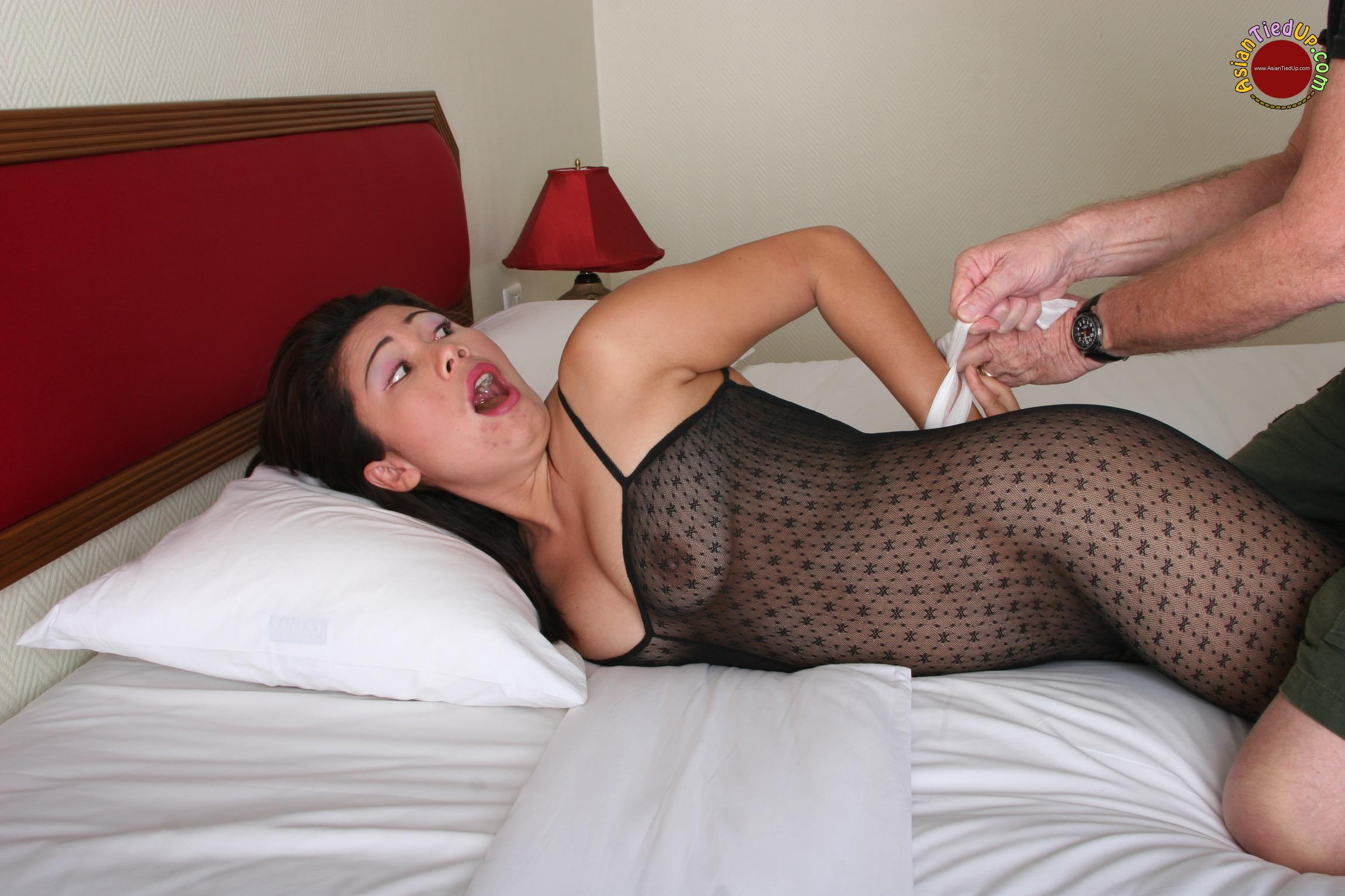 Women tied up getting fucked