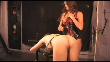 Strapon Jane - Buggery on the Bench (full) HD wmv