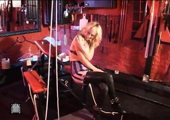 The Very Rebellious Blonde Slave...