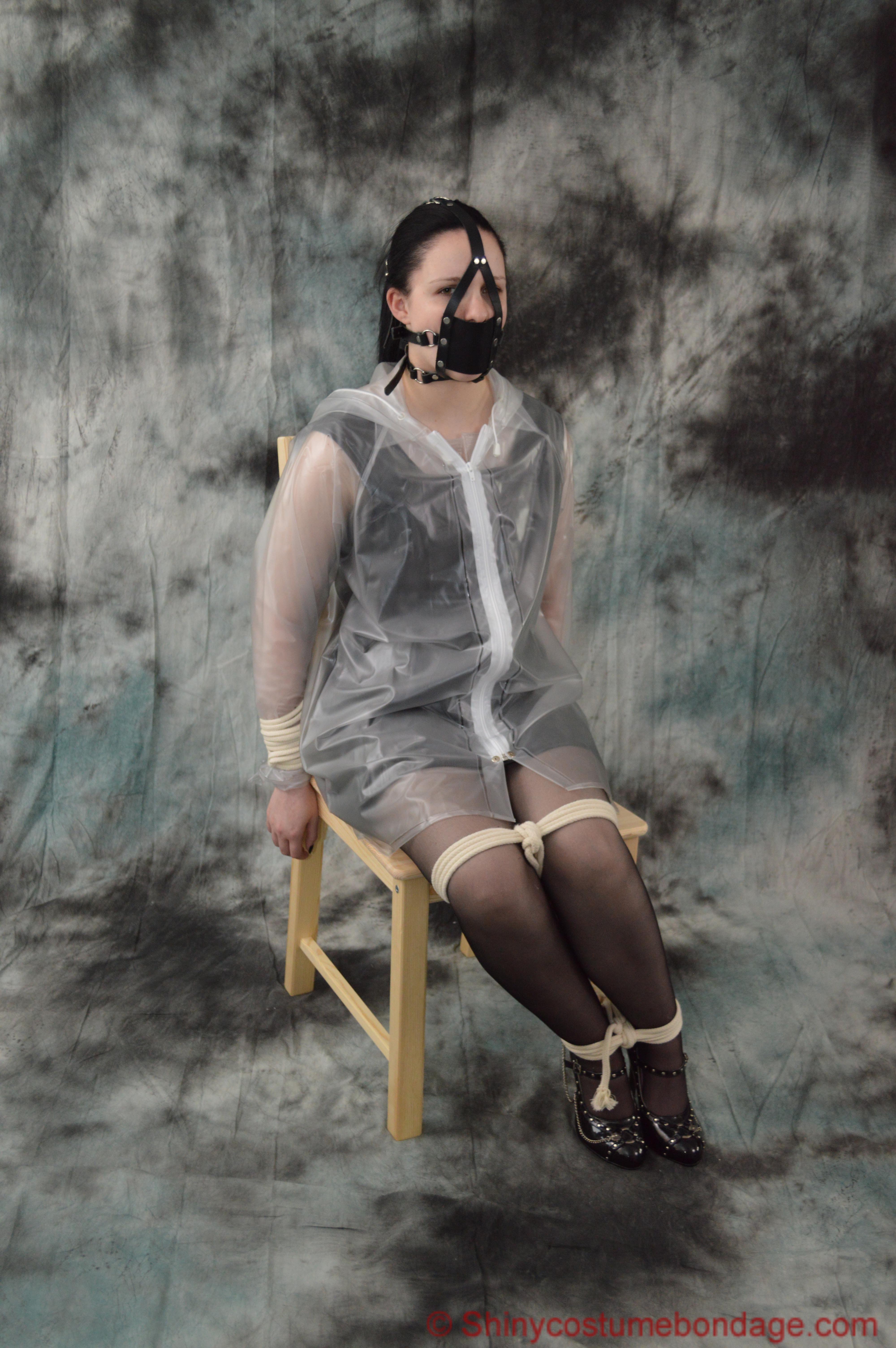 Shiny Costume Bondage | Bound in school uniform part 3