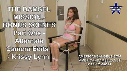 The Damsel Mission - Bonus Scenes - Alternate Camera Edits - Part One - Krissy Lynn