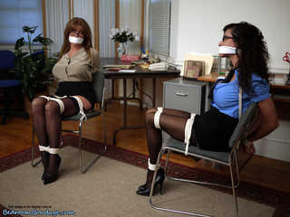 Office Trouble Part 1 - Darla Crane, Ariella Ferrera