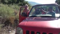 Nackte Jeep-Tour 9