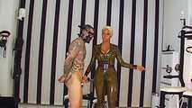 Rubber Goddess Kate - Punischmend on the Fuck Chair 1