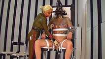 Rubber Goddess Kate - Punischmend on the Fuck Chair 3