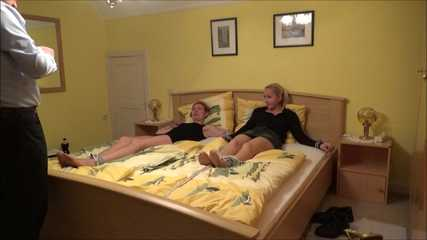 Phoebe and Saskia - Tickling Quiz Part 2 of 7