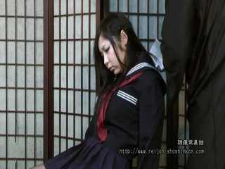 Rin Suzuki - College Student in Sleepy Fetish Bondage - Full Movie
