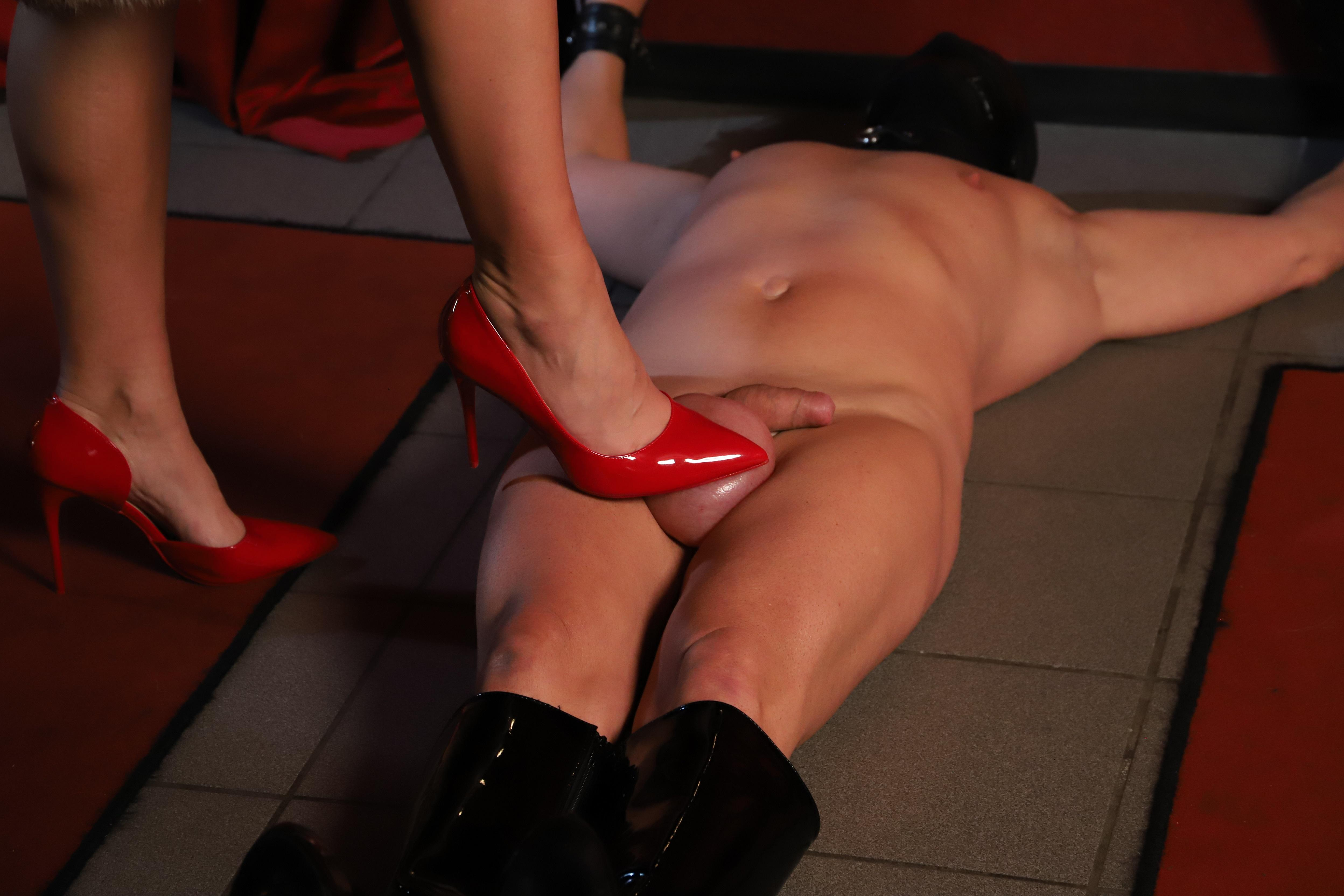 Cock and ball busting