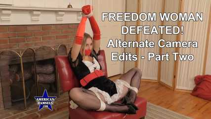 Freedom Woman Defeated! - Alternate Camera Edits - Part Two - Riley Reyes