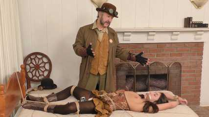 Burglar's Betrayal — Roped, Groped & Gagged - Part Five - Christiana Cinn