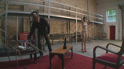Dressage to pleasure slave p-five
