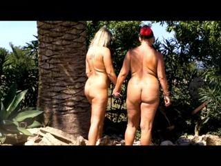 Mallorca - Nude walk hand in hand