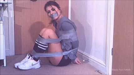 Taped up Jogger