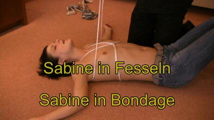 Sabine tied up -  Part 4 HD 1280x720 -Special Price