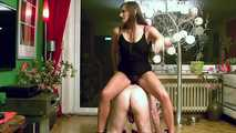 Holly's Old Fart On Knees Jerking Handjob 1