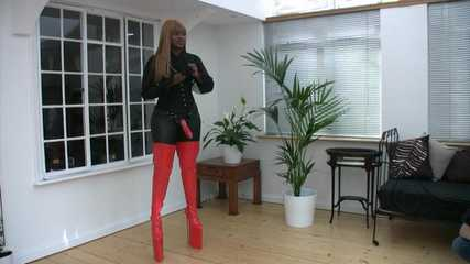Mistress Ava Black at Dungeon Manor - Outtakes (HD wmv)