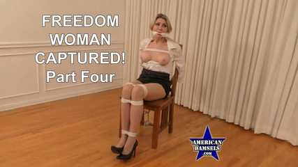Freedom Woman Captured! - Part Four - Agatha Delicious