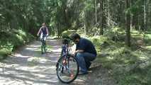 Radfahrerin Blowjob  4