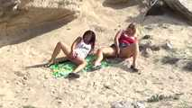 Dildo-Play in the dunes 9