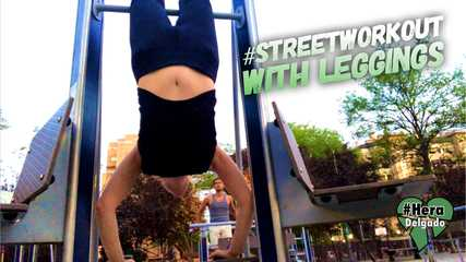 StreetWorkOut with Leggings