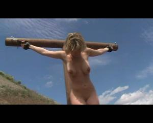 One (not bdsm crucifixion slave