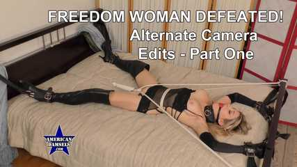 Freedom Woman Defeated! - Alternate Camera Edits - Part One - Agatha Delicious