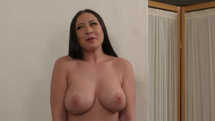 Buxom Secretary Stripdown! Miss Nyssa Nevers Naked at the Office