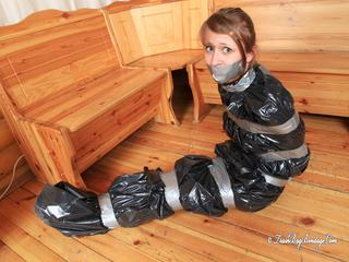 [From archive] Veronika - self packed in trash bag 2