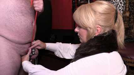 Mistress Erika's Small Cock Humiliation (HD wmv)