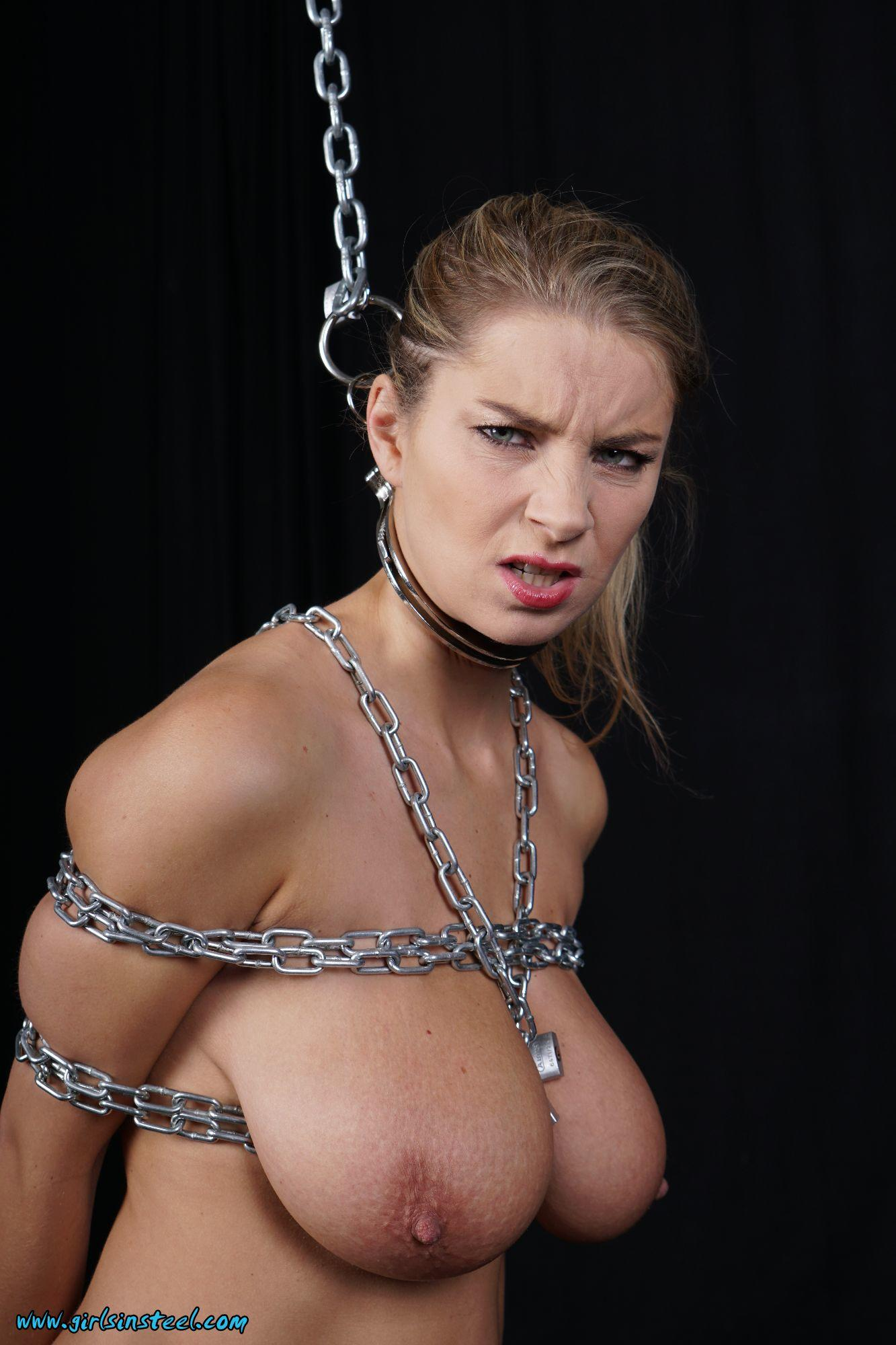 naked babes in chains
