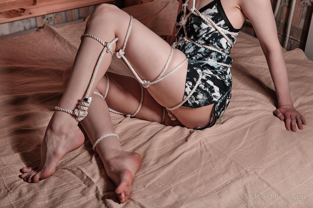 Mild female bondage