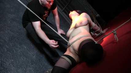 Pussy Bondage with Katja  1/2