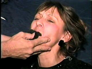 48 YR OLD WAITRESS PANTY GAGGED & BALL-TIED 6:56 (D16-8)