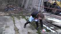 Peeing and Wetting in Jeans 01 10