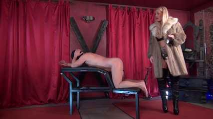 Bound and fucked by the Glamour Lady
