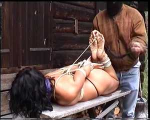 Hogtied in the forest – Quality Hi8, 720x576