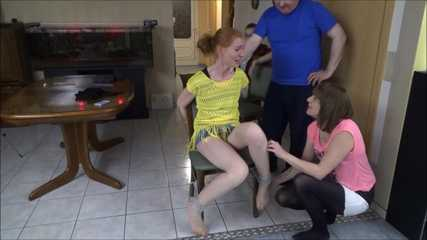 Saskia, Susan and Zora - Tickling Competition 3 Part 3 of 3