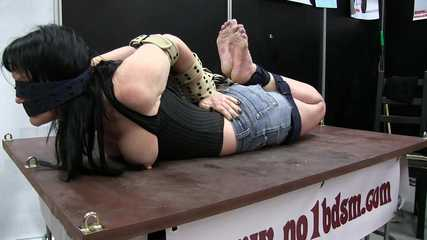 Hogtie with belts
