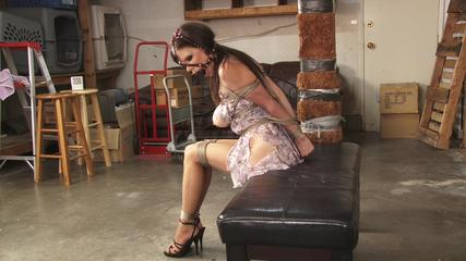Garage Captive Ashley Renee - Part 2