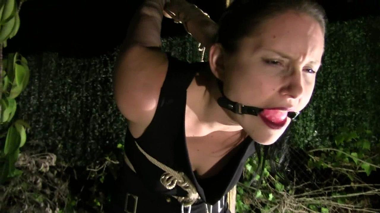 Bondage Wife Tied Up And Gagged But Still Moans All Night