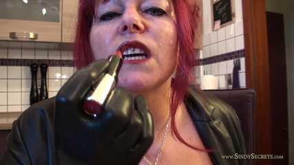Smoking Latex Gloved Worship