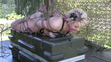 Tight Outdoor Hogtie for Zonah -