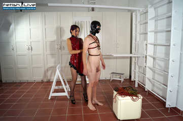 Mistress Amrita and her male slave