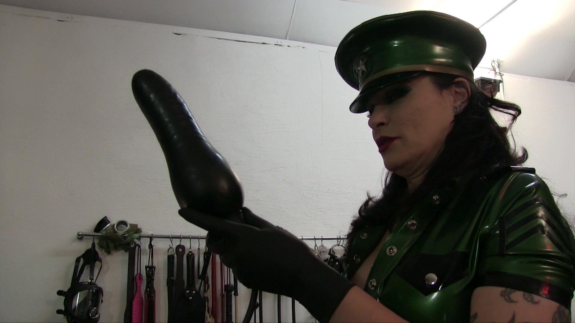 Officer brooks fucks her truncheon XXX