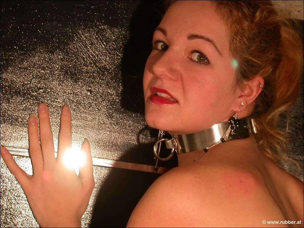 Free leather photo bondage