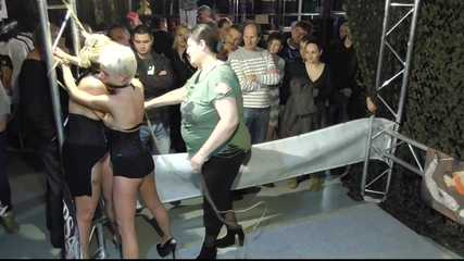 Public Display for Dany Blonde and Lena King