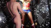 115 Natacha Guapa are Wonder Woman prisoner in house of sex 1