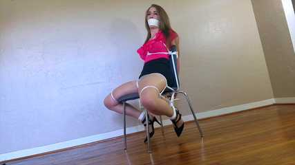 Terra Mizu.. Solicitor Gets Chairtied and Fondled