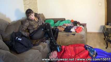 Ewa - Riding the slave and doggy play