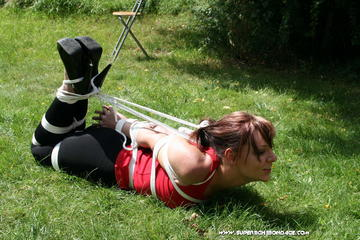 Katarina Blade Hogtied Outdoor